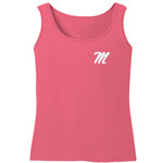 Image One Women's University of Mississippi Comfort Color Tank Top - view number 2
