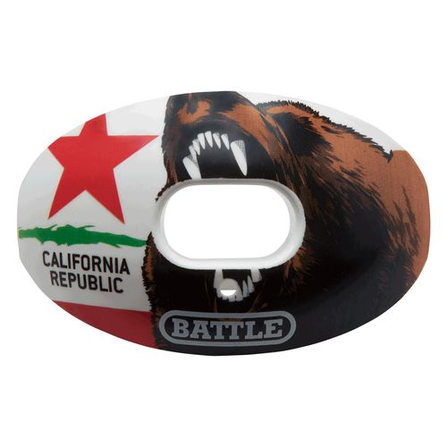 Battle Oxygen California Flag Mouth Guard
