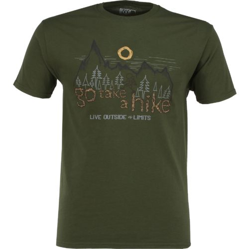 Live Outside the Limits Men's Go Take a Hike T-shirt - view number 1