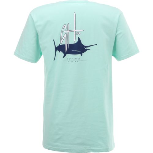 Guy Harvey Men's Initial Logo T-shirt