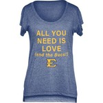 Chicka-d Women's East Tennessee State University Scoop-Neck T-shirt - view number 1