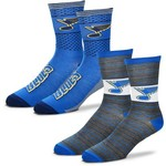 For Bare Feet Men's St. Louis Blues Father's Day Socks - view number 1