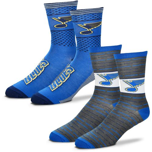 For Bare Feet Men's St. Louis Blues Father's Day Socks