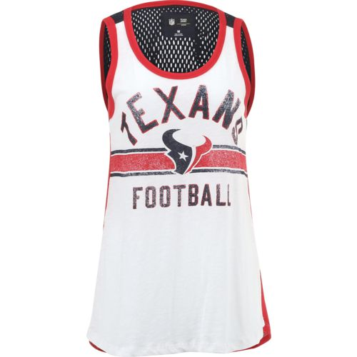 G-III for Her Women's Houston Texans In the Stands Slub Tank Top
