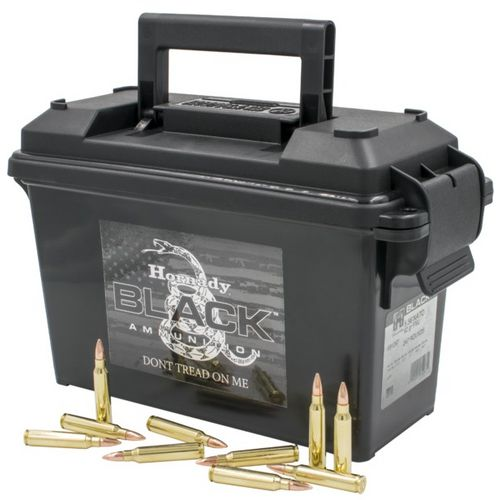 Display product reviews for Hornady Black 5.56 x 45 NATO 62-Grain FMJ Ammunition