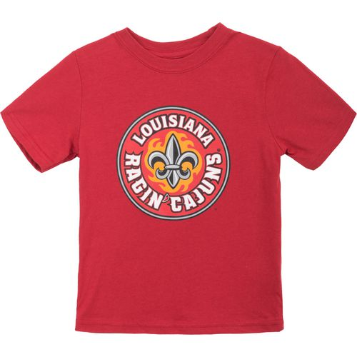 Gen2 Toddlers' University of Louisiana at Lafayette Primary Logo Short Sleeve T-shirt - view number 1