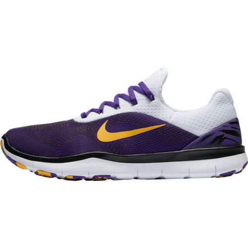 Nike Men's Louisiana State University Free Trainer V7 Week Zero Training Shoes - view number 3