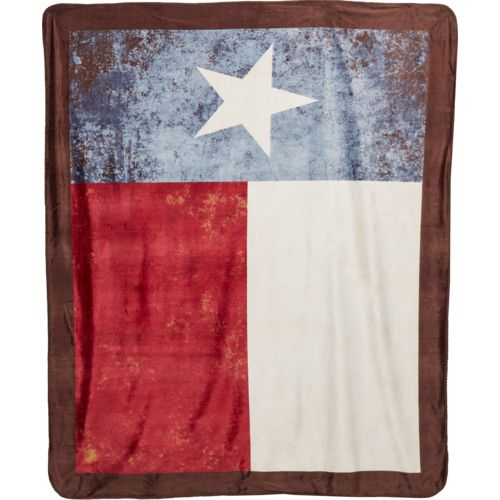 Kimlor Vintage Texas Flag 50 in x 60 in Throw