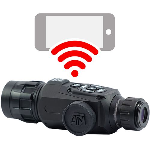 ATN OTS Smart HD 4.5 - 18 x 50 Thermal Monocular - view number 2