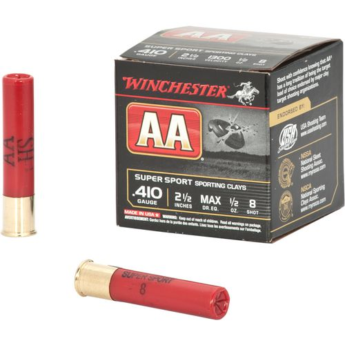 Winchester AA 410 Gauge 2-1/2 in Super Sport Target Loads - view number 2