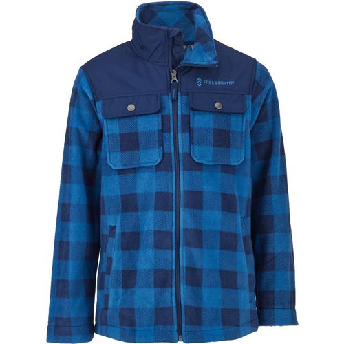 Free Country Boys' Microtech Fleece Shirt Jacket