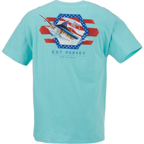 Display product reviews for Guy Harvey Men's Resolution T-shirt