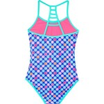 O'Rageous Girls' Hashtag Reversible 1-Piece Swimsuit - view number 2