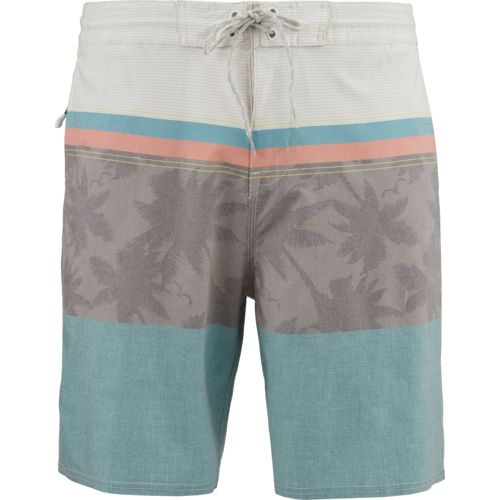 O'Rageous Men's Stretch Floral Print Boardshorts