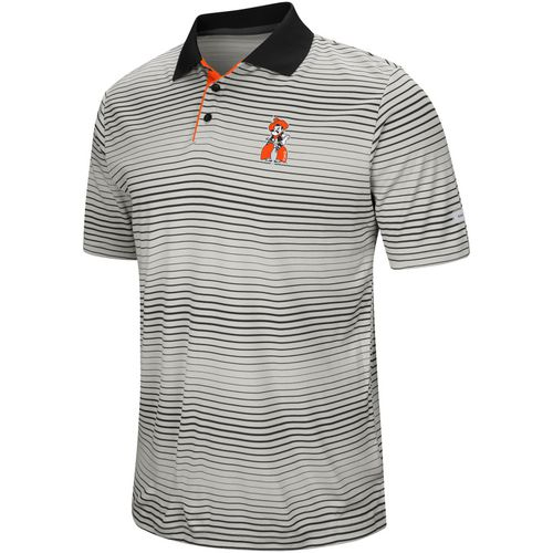 Colosseum Athletics Men's Oklahoma State University Lesson Number One Polo Shirt