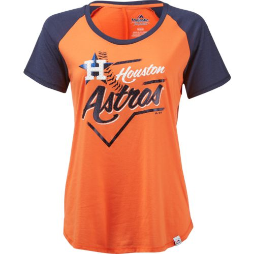 Majestic Women's Houston Astros Game Shake-Up T-shirt
