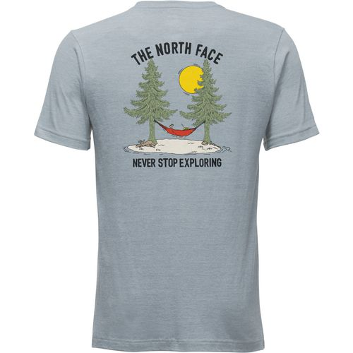 Display product reviews for The North Face Men's Mountain Lifestyle Tree Triblend T-shirt
