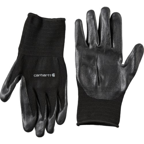 Carhartt Men's All-Purpose Nitrile Grip Gloves