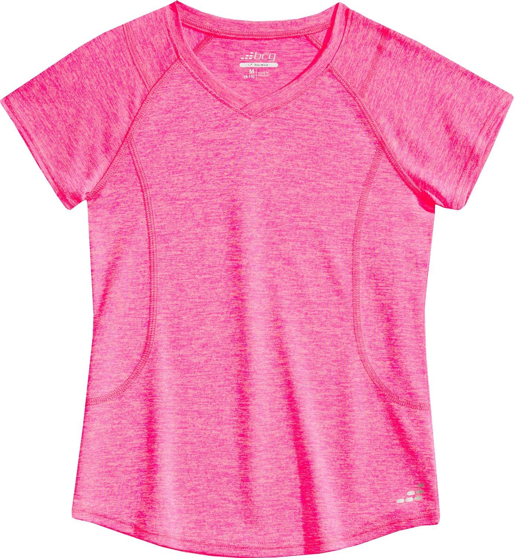 BCG Girls' Heather Turbo Tech Training T-shirt hot sale