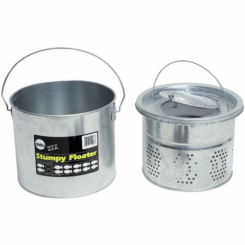 Display product reviews for Frabill 8 qt. Galvanized 2-Piece Floating Bucket