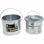 Frabill 8 qt. Galvanized 2-Piece Floating Bucket - view number 1