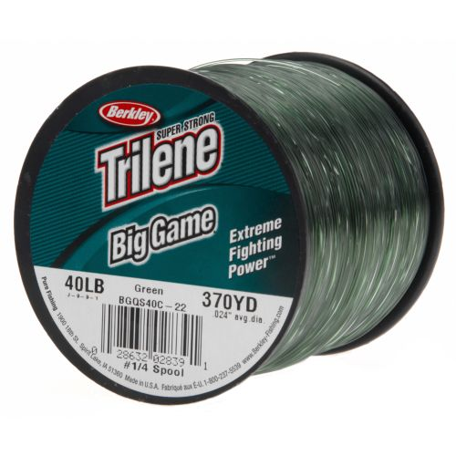 Image for Berkley® Trilene® Big Game 40 lb. - 370 yards Monofilament Fishing Line from Academy