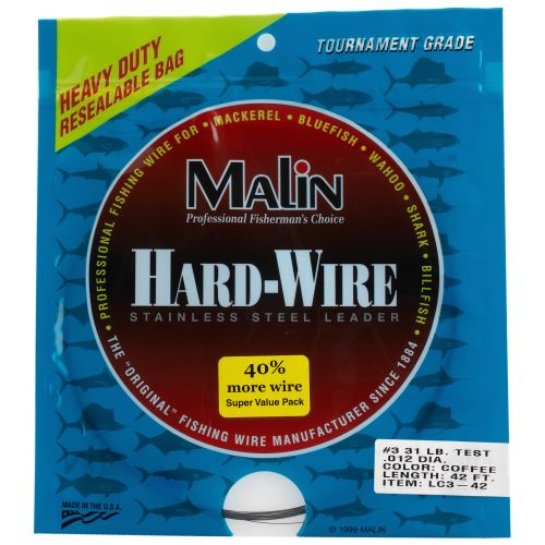 Display product reviews for Malin 42 ft Stainless-Steel Hard Wire