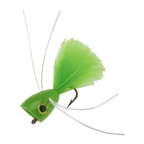 Superfly Panfish PW Popper 1 in Dry Flies 2-Pack