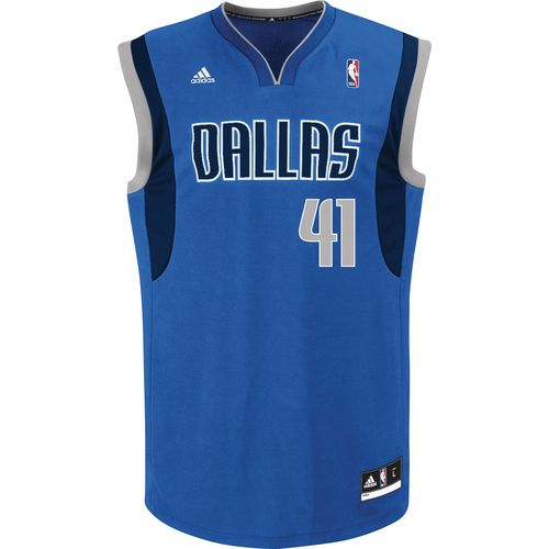adidas™ Men's Dallas Mavericks Dirk Nowitzki #41 Revolution