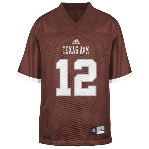 Genuine Stuff Toddlers' Texas A&M 12th Man Replica Football Jersey