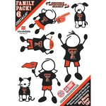 Stockdale NCAA Family Decals 6-Pack