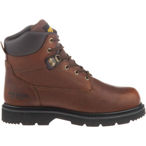 Brazos Men's Braze NS Work Boots (Brown)