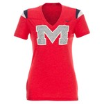 Nike Women's University of Mississippi Football Replica T-shirt