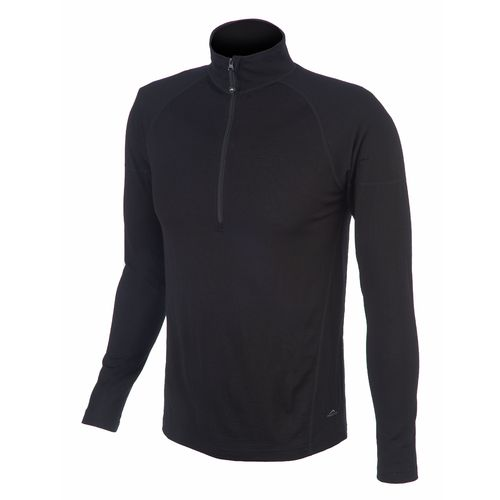 Polar Edge® Men's Platinum Series Merino Wool Performance Base Layer 1/4 Zip Top