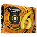 Bridgestone Golf E6 Straight Distance Golf Balls 12-Pack