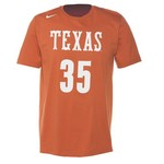Nike Men's University of Texas Kevin Durant Future Star Replica Jersey T-shirt