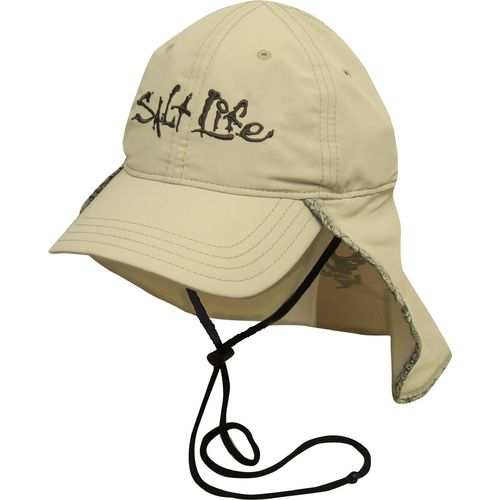 salt life men hat view number baseball