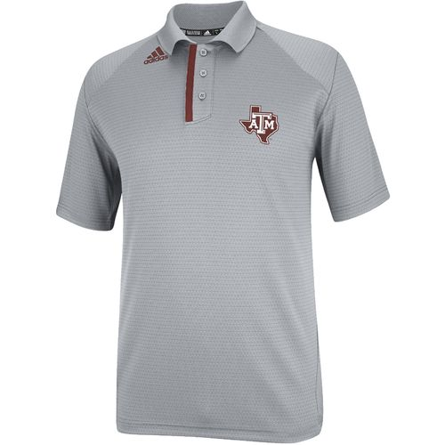 adidas Men s Texas A&M University CLIMALITE  Coordinator Logo Polo Shirt