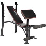 Exertec® Standard Bench with Leg Developer, Yoke and Preacher Pad
