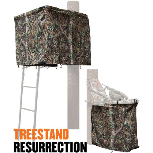 Cottonwood Outdoors Weathershield Treestand Resurrection 2-Panel ADA Blind System Kit - view number 1