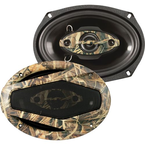 Dual Realtree 6  x 9  4-Way Speaker Set
