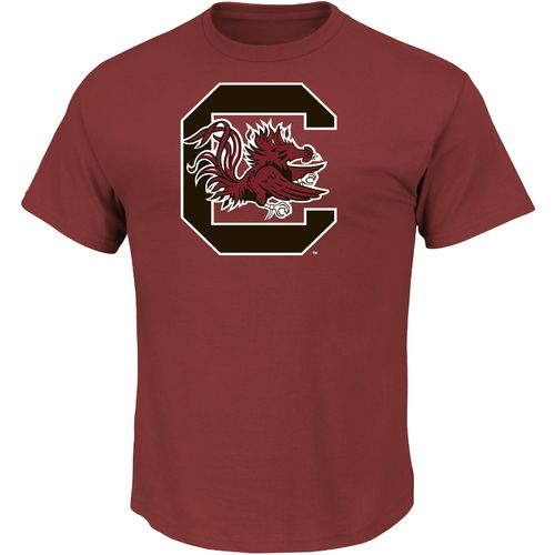Majestic Men's University of South Carolina Section 101 Arch Mascot T-shirt