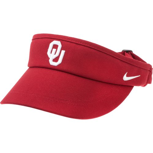 Nike™ Men's University of Oklahoma Sideline Dri-FIT Visor