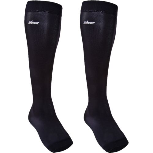 Zamst Adults' LC-1 Calf Compression Open-Toe Long Sleeves 2-Pack