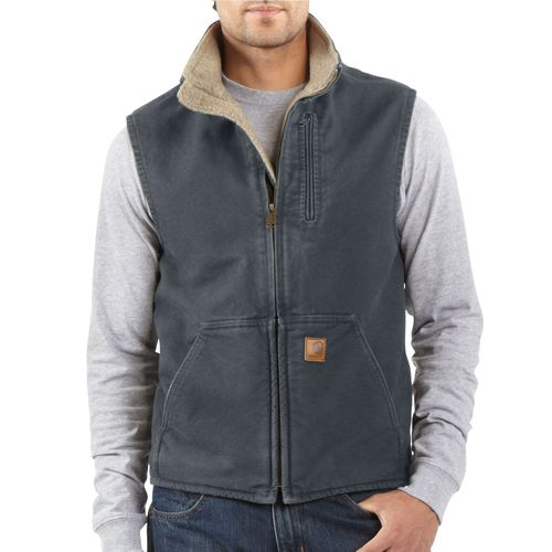 Display product reviews for Carhartt Men's Sandstone Mock Neck Vest