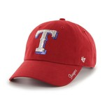 '47 Women's Texas Rangers Sparkle Clean Up Cap