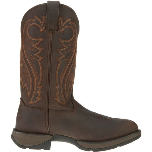 Durango Men's Rebel Round-Toe Pull-On Western Boots