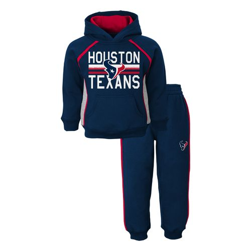NFL Toddlers' Houston Texans Classic Fan Fleece Hoodie Set