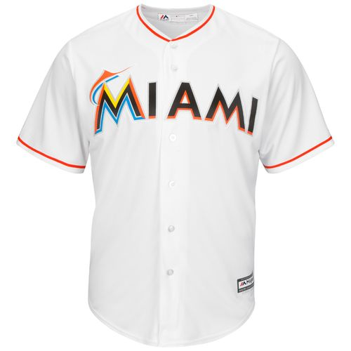 Majestic Men's Miami Marlins Christian Yelich #21 Cool Base® Home Jersey - view number 2