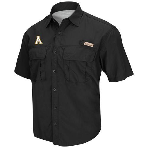 Chiliwear Men's Appalachian State University Swivel Short Sleeve Fishing Shirt